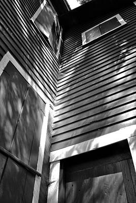 Photograph - Lines And Boxes And Light And Shadow by George Taylor