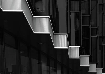 Shape Photograph - Lines And Contrast by Olavo Azevedo