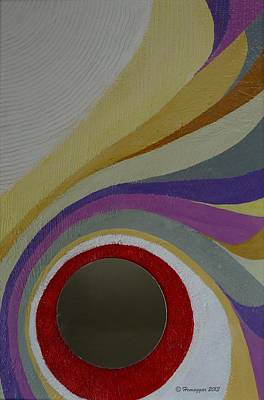 Painting - Lines And Curves And Colors by Hemu Aggarwal