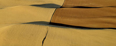 Contour Farming Photograph - Lines And Light Of The Palouse by Latah Trail Foundation