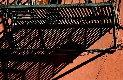 Photograph - Lines And Shadows by Nadalyn Larsen