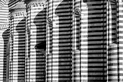 Orvieto Photograph - Lines And Shadows by Valentino Visentini