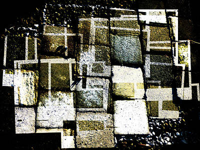 Spot Of Tea Royalty Free Images - Lines and Texture Royalty-Free Image by Steve Taylor
