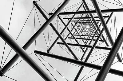 Perspective Photograph - Lines by Carla Vermeend