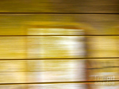 Photograph - Lines-from A Rolling Train by Robert Riordan