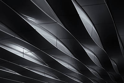 Netherlands Wall Art - Photograph - Lines In Motion by Jeroen Van De