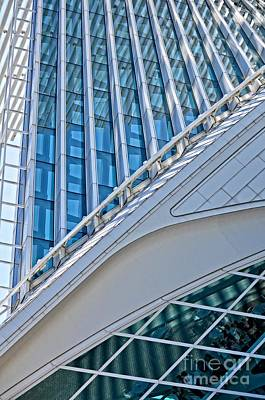 Beam Digital Art - Lines Of The Calatrava by Mary Machare
