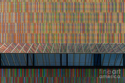 Lines - Pop Art Print by Hannes Cmarits