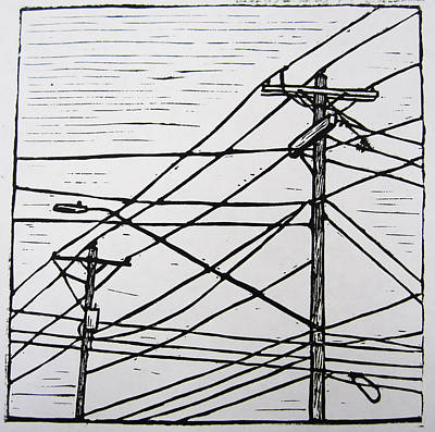 Lines Art Print by William Cauthern