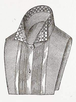 Lingerie A La Seymour, Needlework Art Print