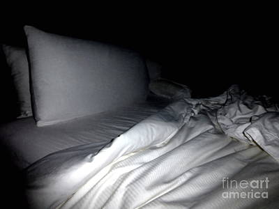 Unmade Bed Photograph - Lingering Perfume by Mariana Titus