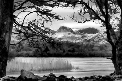 Lingmoor Fell Art Print