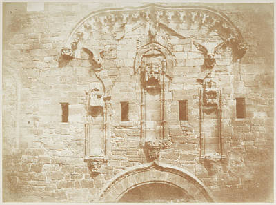 Linlithgow Palace Wall Print by British Library