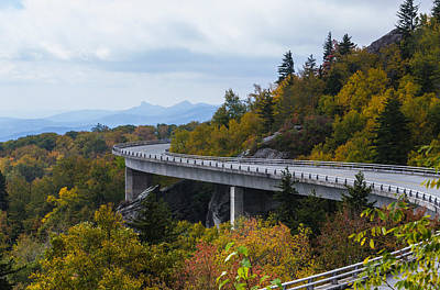 Art Print featuring the photograph Linn Cove Viaduct by Gregg Southard