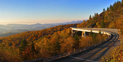 Photograph - Linn Cove Viaduct by Gregory Scott