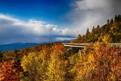Photograph - Linn Cove Viaduct Photograph by John Haldane