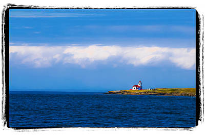 Photograph - Light House In British Columbia by Craig Perry-Ollila