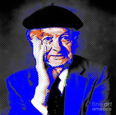 Linus Pauling Art Print by Gerhardt Isringhaus