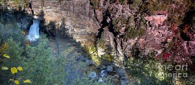 Blue Ridge Parkway Waterfalls Photograph - Linville Falls Blue Ridge Parkway by Dustin K Ryan