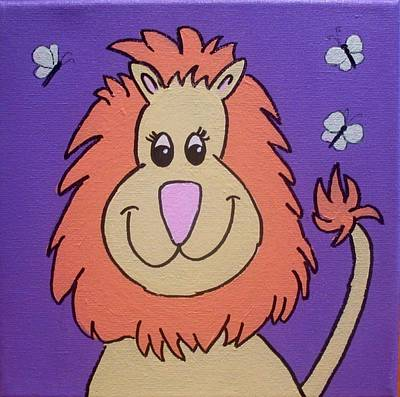 Painting - Lion by Anne Gardner