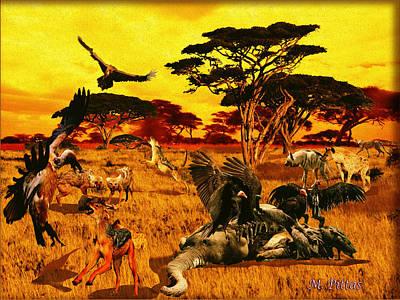 Lion Kill Morning After'98 Art Print