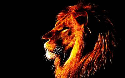 Observer Digital Art - Lion King by Fellow Store