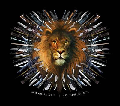 Lion Maim Original by Arm The Animals