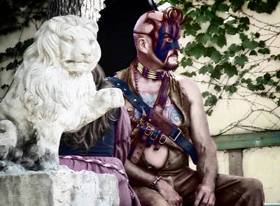 Lion Man Print by Thomas Woolworth