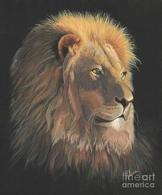 Lion Of Judah Painting - Lion Of Judah by Alicia Fowler