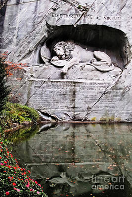 Photograph - Lion Of Lucerne by Elvis Vaughn