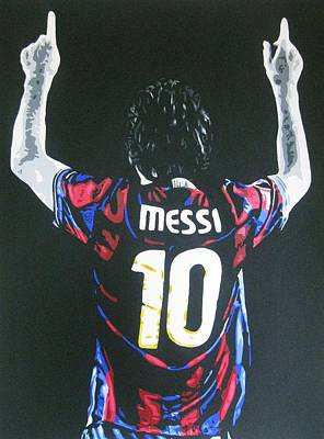 Painting - Lionel Messi - Barcelona Fc by Geo Thomson