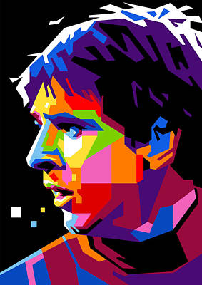 Nice Digital Art - Lionel Messi by Ahmad Nusyirwan