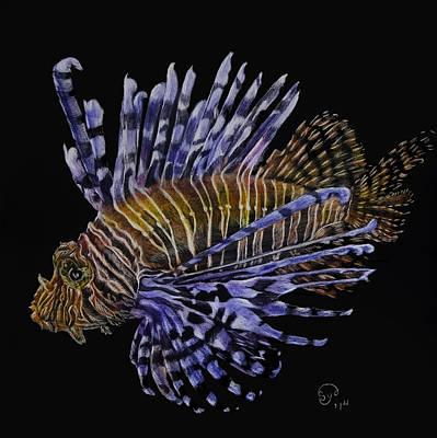 Lionfish 2 Art Print by Sydne Spencer