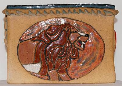 Lions And Humming Birds Oh My Original by Susan Perry