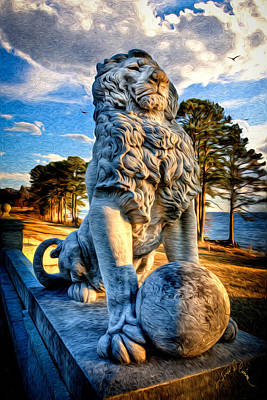 Photograph - Lion's Bridge by Williams-Cairns Photography LLC