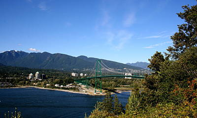 Photograph - Lions Gate by Betty-Anne McDonald
