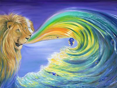 Gostanza Painting - Lions Gateway by Teresa Gostanza