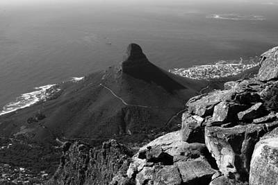 Lions Head - Cape Town - South Africa Art Print