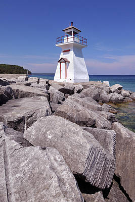 Photograph - Lion's Head Light. by John Jacquemain