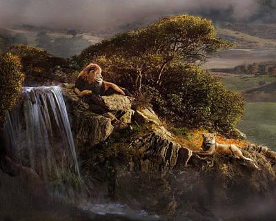 Photograph - Lion's Rock by Melinda Hughes-Berland