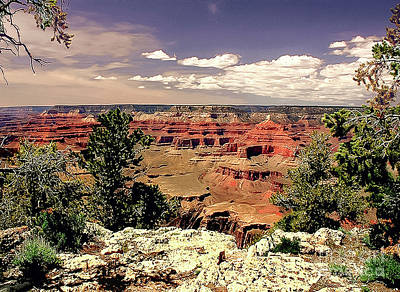 American West - Lipan Point  Grand Canyon by Bob and Nadine Johnston