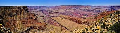 Photograph - Lipan Point Panorama by Greg Norrell