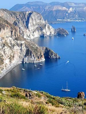 Lipari Photograph - Lipari Island Sicily Italy by Ulisse Bart