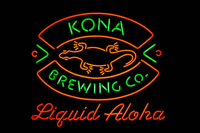 Beer Royalty-Free and Rights-Managed Images - Liquid Aloha by Dan McManus