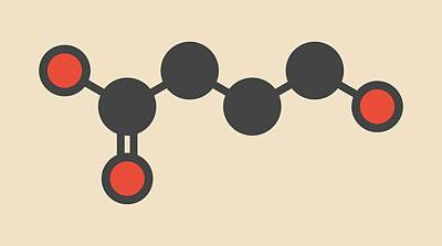 Aphrodisiac Photograph - Liquid Ecstasy Molecule by Molekuul
