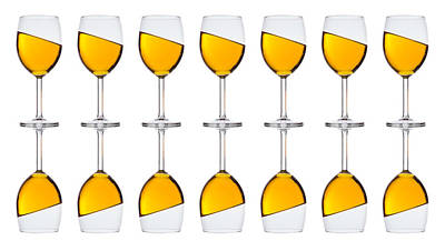 Photograph - Liquid Gold In A Glass by Andrew Munro