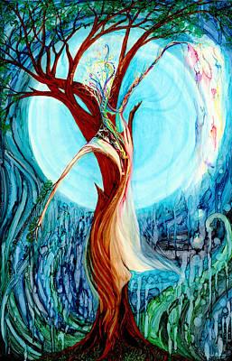 Painting - Liquid Moonlight by Karen  Renee