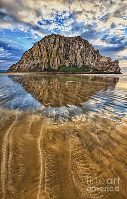 Photograph - Liquid Reflections by Beth Sargent