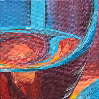 Painting - Liquid Sway by Trina Teele