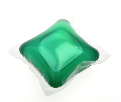 Familiar Object Photograph - Liquid Washing Tablet by Public Health England